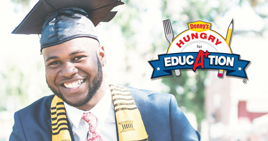 Denny's Hungry for Education Campaign & USHLI Partner to Award Scholarships!