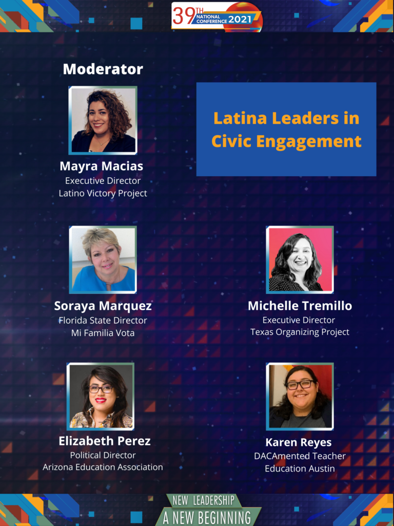 list of panelists for civic engagement panel